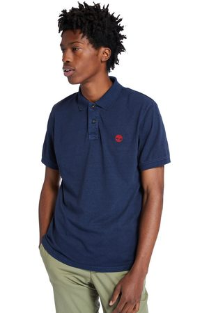 Timberland Sunwashed jersey polo shirt for men in navy navy, size 3xl