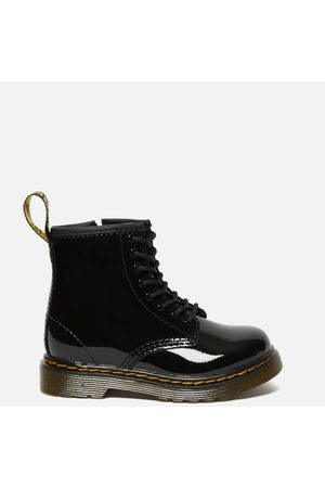 Dr. Martens Kids Boots - Toddlers' 1460 T Patent Limper Lace Up Boots