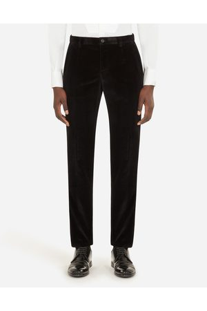 Dolce & Gabbana Trousers and Shorts - COTTON VELVET PANTS male 44