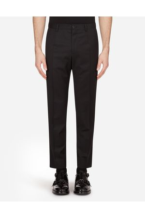 Dolce & Gabbana Men Trousers - Trousers and Shorts - STRETCH WOOL PANTS male 58
