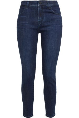 J BRAND Woman Alana High-rise Skinny Jeans Dark Denim Size 25
