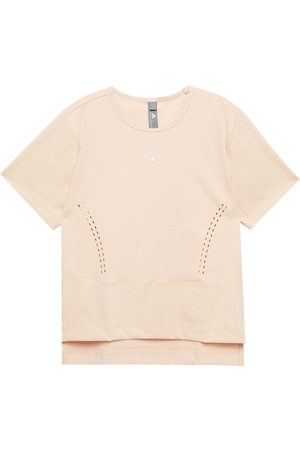 ADIDAS BY STELLA MCCARTNEY Woman Stretch-jersey T-shirt Neutral Size L