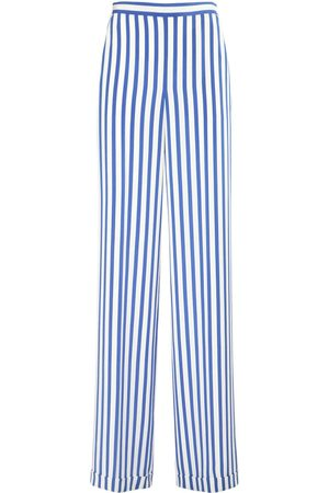 Ralph Lauren Printed Silk Crepe De Chine Pants