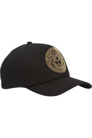 VERSACE Medusa studded cap