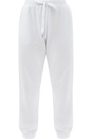 The Upside Major Logo-print Cotton-jersey Track Pants - Womens