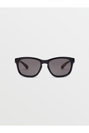 Volcom Men's Chicagof Eyewear - Gloss ObsidianTort/Gray