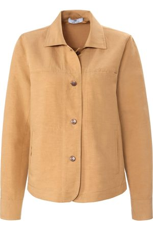 Peter Hahn Blouse jacket shirt collar size: 10