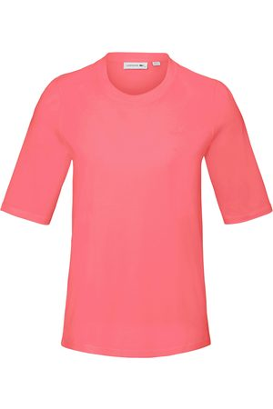 Lacoste Women Tops - Round neck top longer 1/2- length sleeves bright size: 10