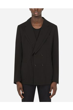 Dolce & Gabbana Collection - DECONSTRUCTED WOOL GAUZE JACKET male 48