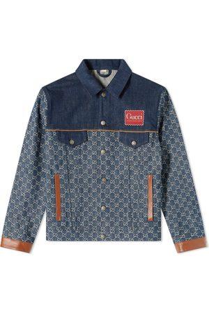 Gucci Men Denim Jackets - GG Denim Jacket