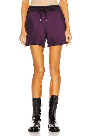Cotton Citizen Women Shorts - Brooklyn Short in Plum Mix