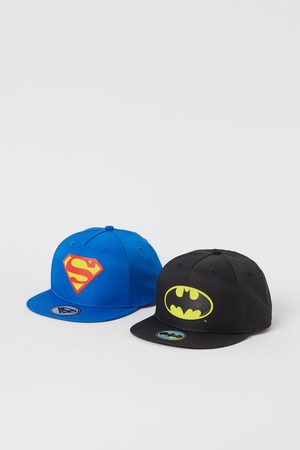 H&M Boys Hats - 2-pack superhero caps