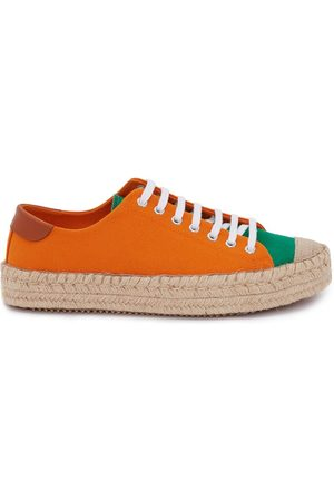 J.W.Anderson Panelled lace-up espadrilles