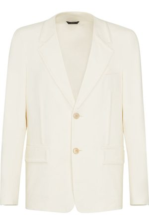 Fendi Embossed single-breasted blazer