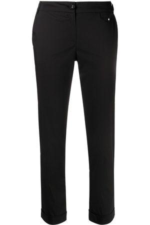 Patrizia Pepe Slim-fit cropped trousers
