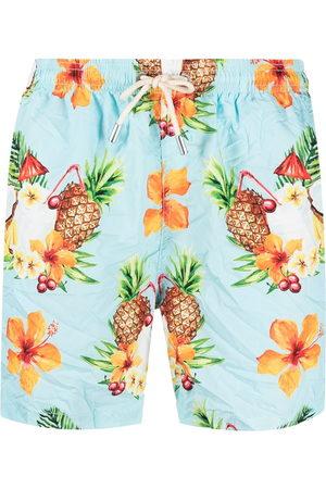 MC2 SAINT BARTH Graphic-print swim shorts