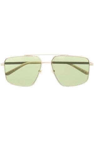Gucci Men Sunglasses - Naviagtor-frame logo sunglasses