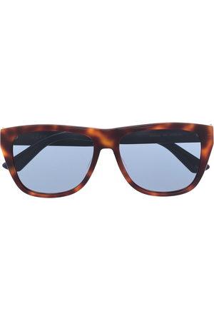 Gucci Tortoiseshell-effect D-frame sunglasses