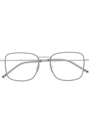 Thom Browne Sunglasses - RWB detail square-frame glasses