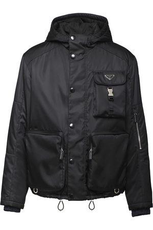 Prada Recycled nylon press-stud jacket