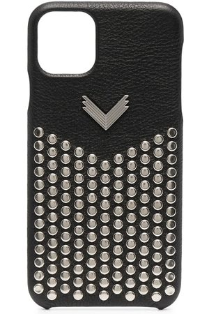 Manokhi Studded leather iPhone 11 Pro Max case