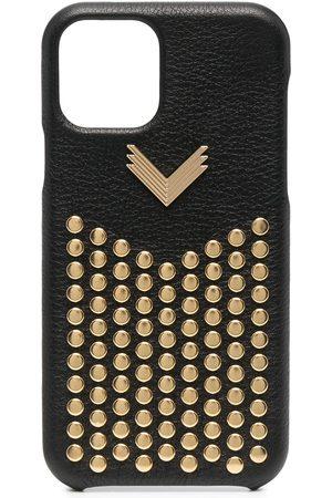 Manokhi Studded leather iPhone 11 Pro case