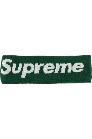 "Supreme Hats - New Era Big Logo Headband ""FW 18"""