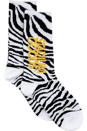 Stadium Goods Socks - Zebra-pattern socks
