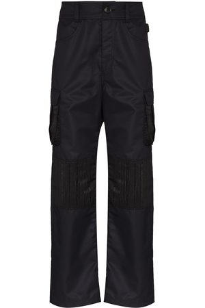 Marine Serre Survival straight-leg cargo trousers