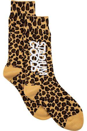 Stadium Goods Leopard-pattern socks