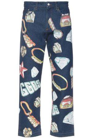 GCDS Men Trousers - DENIM - Denim trousers