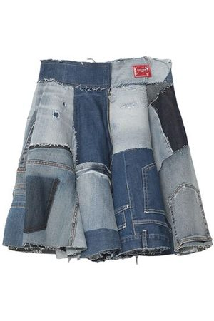 DOLCE & GABBANA Women Denim Skirts - DENIM - Denim skirts