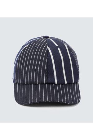 Thom Browne Pinstriped baseball cap