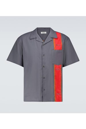 ADISH Woodblock short-sleeved shirt