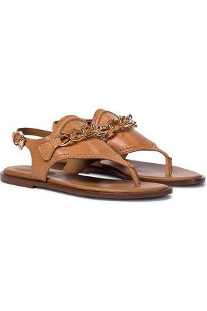 Chloé Mahe leather thong sandals