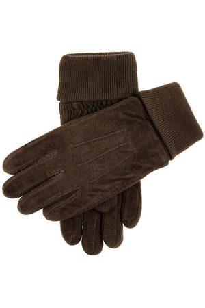 Dents Men's Fleece Lined Suede Gloves In Size M