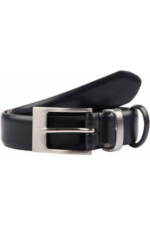Dents Men's Double Keeper Leather Belt In Size L
