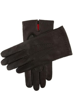 Dents Men's Handsewn Silk Lined Leather Gloves In Size 10