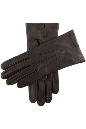 Dents Men's Silk Lined Leather Gloves In Size 8