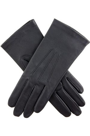 Dents Women's Silk Lined Leather Gloves In Size 7