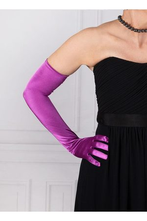Dents Women's Long Satin Evening Gloves In Size One
