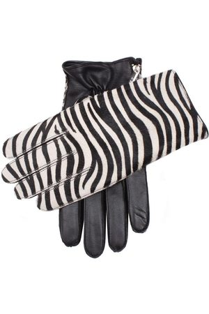 Dents Men's Cashmere Lined Ponyskin And Leather Gloves In Size Xl