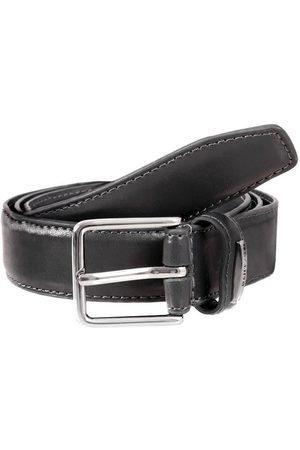 Dents Men's Plain Leather Belt In Size Xxxl