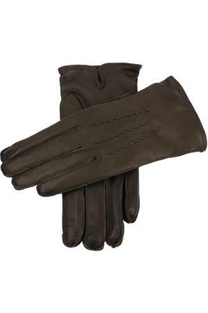 Dents Men's Cashmere Lined Leather Gloves In Size 10