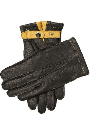 Dents Men'S Cashmere Lined Peccary Leather Gloves In Size 8.5