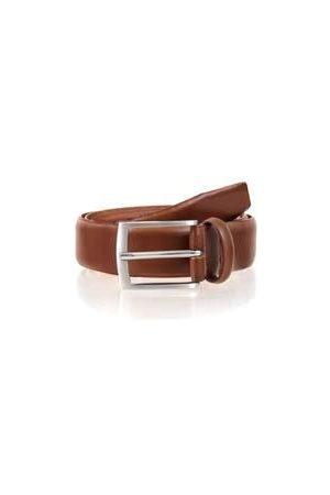 Dents Men's Plain Leather Belt In Size M