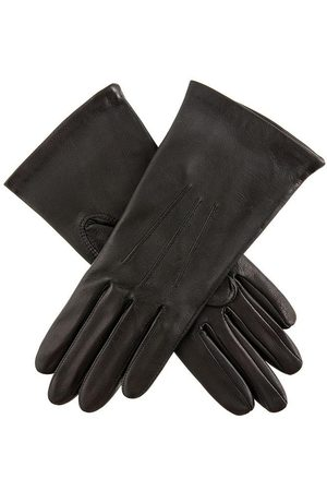 Dents Women's Silk Lined Leather Gloves In Size 8