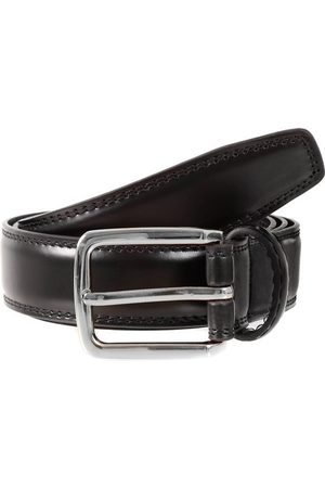 Dents Men's Plain Leather Belt In Size L