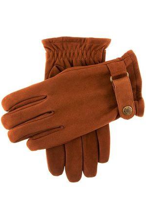 Dents Men Gloves - Men's Fleece Lined Nubuck Leather Gloves In Size L