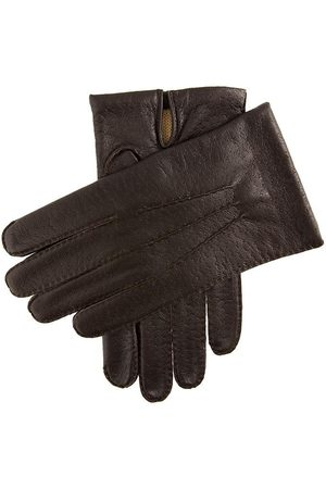 Dents Men's Imitation Peccary Leather Gloves In Size S
